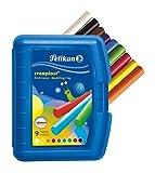Pelikan 198/9B - Creaplast  Knete 9 verschiedene Farben in Kunststoffbox -