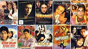 10er Sharukh Khan Fan Paket [10 DVDs]