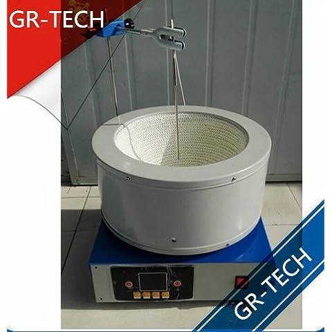 gr-tech strumento® zncld-ts-5000ml Display digitale intelligente Timing agitatore magnetico riscaldamento
