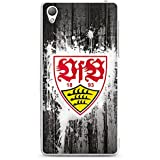 Sony Xperia Z3 Hülle Silikon Case Schutz Cover VfB Stuttgart Fanartikel Bundesliga Fußball