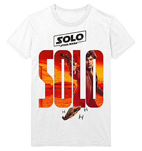 Waterman Falls UK Han Solo Movie Poster A Star Wars Story Unisex White T Shirt