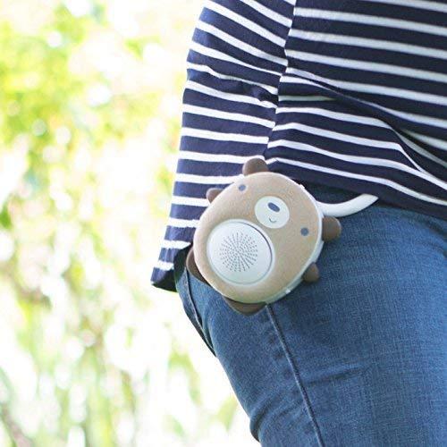 Einschlafhilfe Baby Und Kleinkind - White Noise Bluetooth Lautsprecher Als Schlafhilfe - Tragbarer Lautsprecher, Wiederaufladbar, Optimal Für Zuhause Und Unterwegs - Zuhause, Wiederaufladbar, WavHello, unterwegs, Tragbarer, SoundBub, Schlafhilfe, Noise, Lautsprecher, Kleinkind, einschlafhilfe, Bluetooth, Benji, Bär, Baby