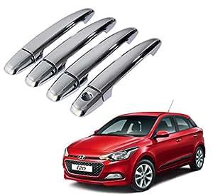 Auto Pearl - Chrome Door Handle Latch Cover - Hyundai I20 Elite