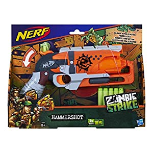 Nerf A4325, Pistola de Juguete Zombie Strike