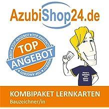 AzubiShop24.de Kombi-Paket Lernkarten Bauzeichner/-in: Erfolgreiche Prüfungsvorbereitung auf die Abschlussprüfung
