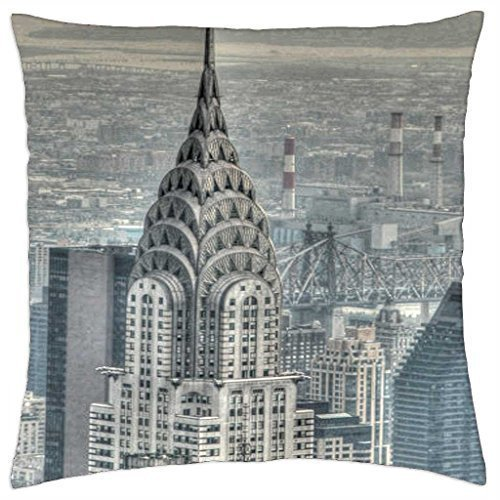 chrysler-building-rainy-man-pillow-cover-case-18-x-18