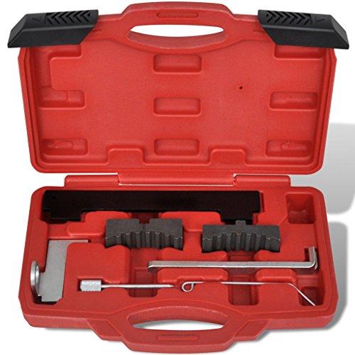 Festnight Motorsteuerung Werkzeug-Set 7-tlg Nockenwellen Werkzeugsatz für Opel