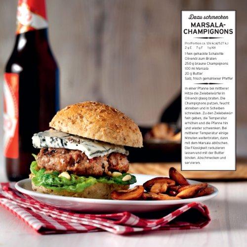 51AT2VkUigL - Das ultimative Burger-Grillbuch: Mit und ohne Fleisch.