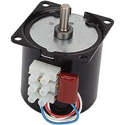 DN 220V AC 5rpm Potente High Torque Caja de engranajes del motor eléctrico síncrono 70mA 50HZ