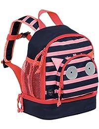 Preisvergleich für Lässig Mini Backpack Kindergartenrucksack Kindergartentasche, Little Monsters, Navy Korall Kinder-Rucksack, 27...