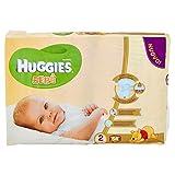 Huggies - Bebè - Pañales - Talla 2 (3 - 6 kg) - 56 pañales