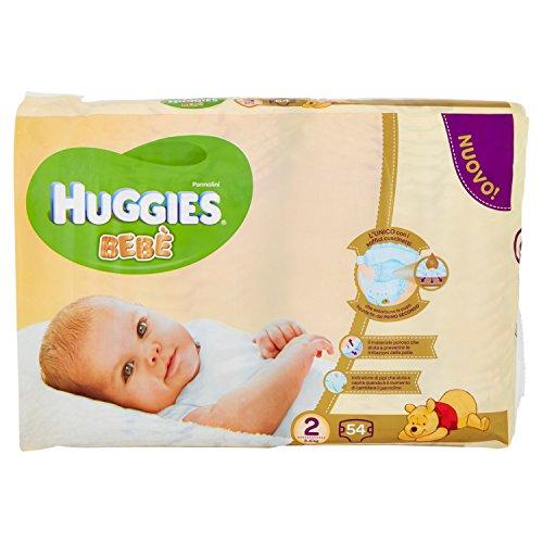 Huggies - Bebè - Pañales - Talla 2 (3 - 6 kg) -...