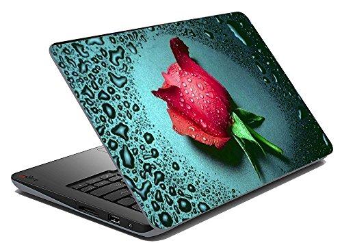 Rose gocce di rugiada computer portatile Notebook