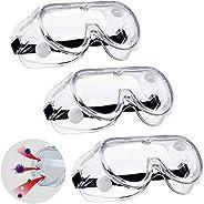 Safety Glasses Virus Medical Goggles, Anti-Virus Protective Goggles/Prevent Saliva/Anti Fog Goggles/Eye Protec