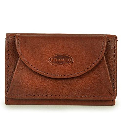 Branco - Kleines Portmonee, Minibörse Leder, Modell 105 -