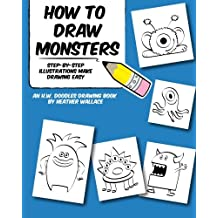 How to Draw Monsters: Step-by-Step Illustrations Make Drawing Easy