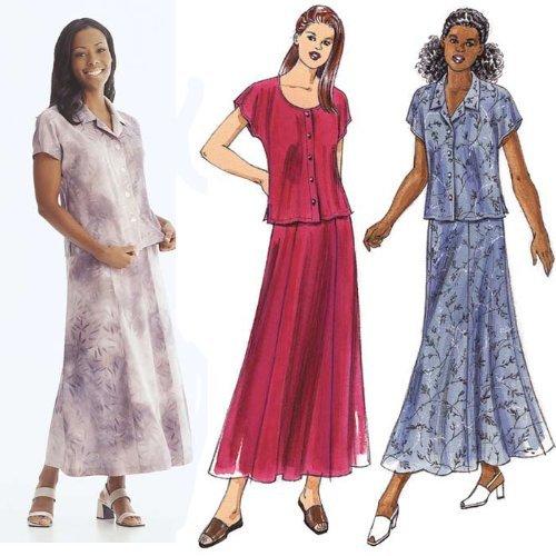 Kwik Sew Misses Skirt & Tops Pattern By The Each by Kwik Sew Pattern