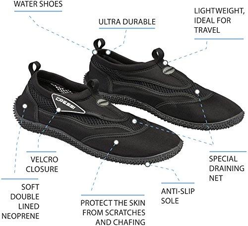 Cressi Noumea - Chaussures de Plage et Piscine pour Adulte