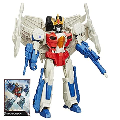 Transformers Generations Leader Class Starscream Action Figurine