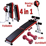 Best Workout Benches - Costway Sit Up Bench AB Abdominal Crunch Exercise Review