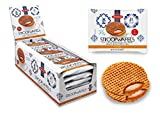 Daelmans Stroopwafels | Caramel Stroopwaffle | Caramel Wafers - 78 g x 18 in a Box - Warm it up on Your Cup - Great for Those on The go Moments