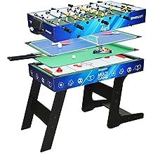Table de jeux de bar Multijeux 4 en 1 pliable - DevesSport 2c2516851a94