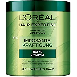L'Oréal Paris Hair Expertise Imposante Kräftigung - Maske Vitalität, 1er Pack (1 x 200 ml)