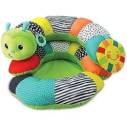 Infantino 930-216180-09 Coussin cale-bébé évolutif en siège