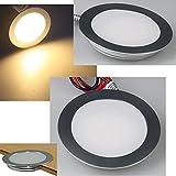 3 Stück Begehbarer | IP67 LED Bodeneinbauspot Lisa | 12V | 0.9W | Lichtfarbe Warmweiß |inkl. LED Rund Trafo 12Watt