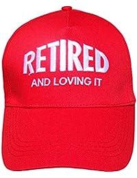 TeddyT's Men's Retired and Loving It Summer Sun Baseball Cap Hat