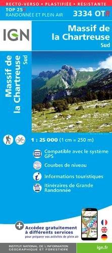 MASSIF DE LA CHARTREUSE SUD par Collectif