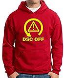 T-Shirtshock - Sweatshirt Hoodie TB0444 DSC OFF Track Day, Größe XXL