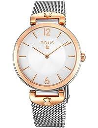 Reloj Tous S-Mesh de acero analógico mujer 700350285
