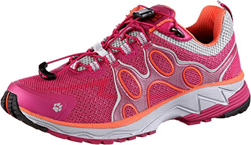 Jack Wolfskin Passion Trail Low Women Größe UK 6,5 azalea red