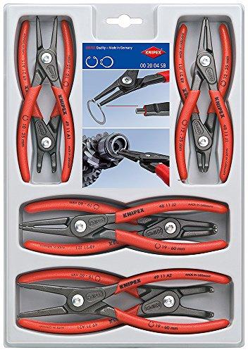 KNIPEX 00 20 04 SB Juego de alicates de precisión para arandelas