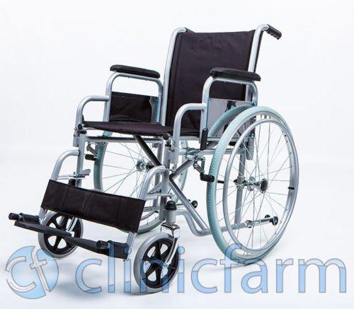 Kinderwagen Rollstuhl zusammenklappbar für Behinderte und Ältere via freistehend Maßnahmen: Sitzhöhe 46cm Fläche bis 65cm