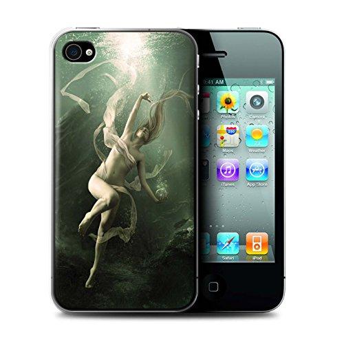 Officiel Elena Dudina Coque / Etui pour Apple iPhone 4/4S / Sous-Marin Design / Agua de Vida Collection Sous-Marin