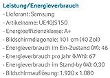 Samsung UE40J5150 101 cm (40 Zoll) Full-HD Fernseher - 3