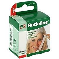 Preisvergleich für RATIOLINE acute Heftpflaster 2,5 cmx5 m 1 St Pflaster