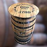 Eiche massiv recyceltem Isle of Jura Marken Whisky Barrel Getränke Schrank | Pub Tisch | verstauen