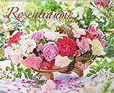 Rosenträume 2018: Großer Wandkalender. Foto-Kunstkalender Rosen-gärten. Querformat 55 x 45,5 cm