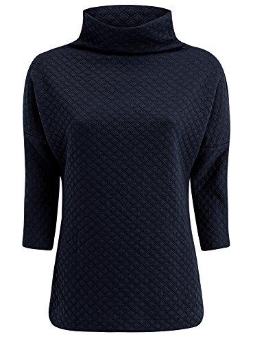 oodji-collection-donna-maglione-in-tessuto-strutturato-con-collo-largo-blu-it-50-eu-46-xxl