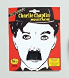 Charlie Chaplin Tash Moustache Fancy Dress Costume by Bristol Novelties