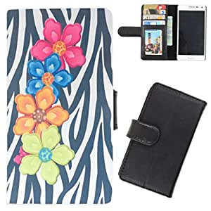DooDa - For Sony Xperia M / Xperia M Dual PU Leather Designer Fashionable Fancy Flip Case Cover Pouch With Card, ID & Cash Slots And Smooth Inner Velvet With Strong Magnetic Lock
