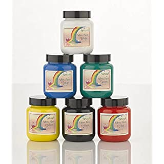 Artcraft Fabric Paints Bright 6 x 60ml Different Colours Available