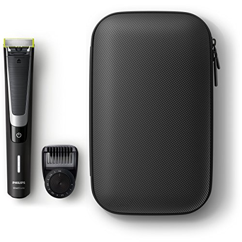 Philips OneBlade Pro QP6510/64 - Pack Recortador Barba