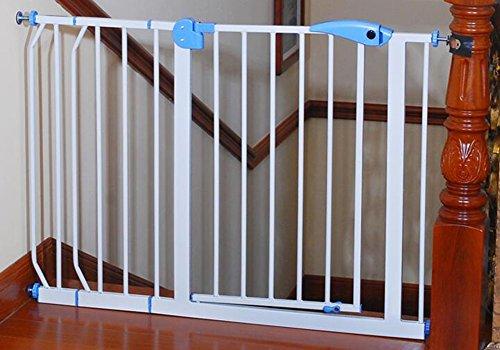 Cancello di Sicurezza per Bambini Barriera per Scale Barriera per Cucine Ringhiere per Bambini Pet Isolation Door Top of Scale Baby Gate (Dimensioni : 105-114cm)