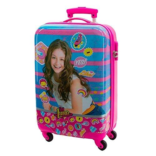 Disney Kabinenkoffer Ich bin Luna Kindergepäck, 35 Liter, Pink