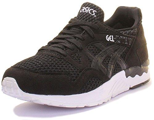 Asics Gel-Lyte V, Chaussures de Course pour Entraînement sur Route Mixte Adulte black-black (H7K2N-9090)