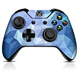 Controller Gear Controller Skin - Blue Poly - Officially Licensed by Xbox One